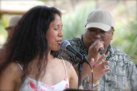 Caroline & Raymond on vocals