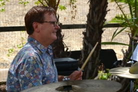 Casey Smiley on drumns