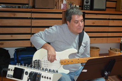 Tom Gregory on bass