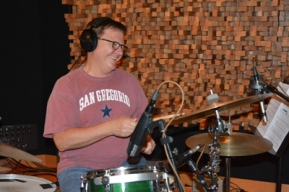 Casey Smiley on drums