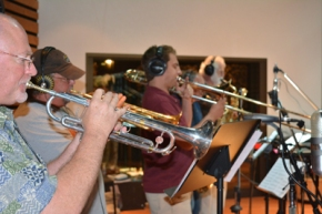 The Forte horn section