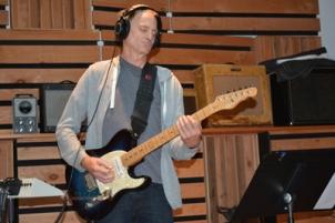 Paul Deirup on guitar
