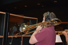 Dan Schulman on trombone
